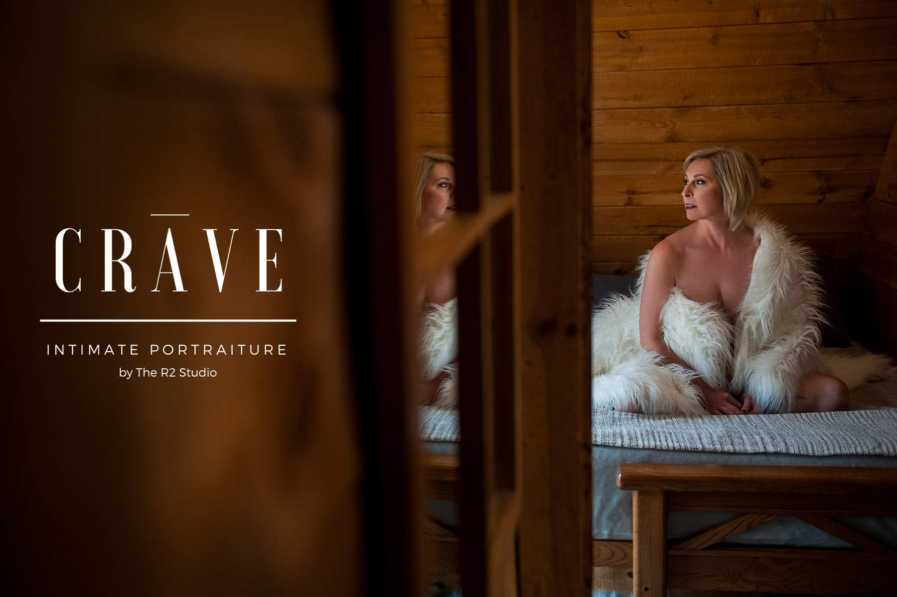 flagstaff boudoir photographer - CRAVE Cabin Sessions