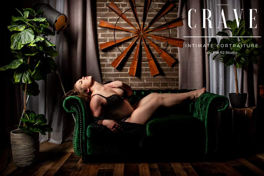 Jessica's CRAVE Boudoir Session
